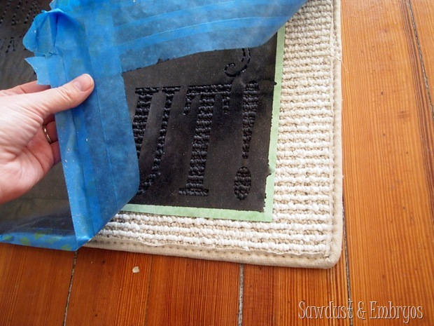 Time Out Mat {Sawdust and Embryos}