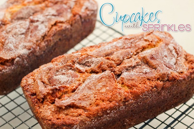 Amish Cinnamon Bread {by Cupcakes with Sprinkles}
