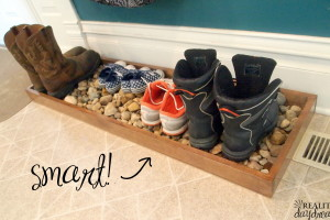 'Drip Tray' for Muddy or Wet Shoes