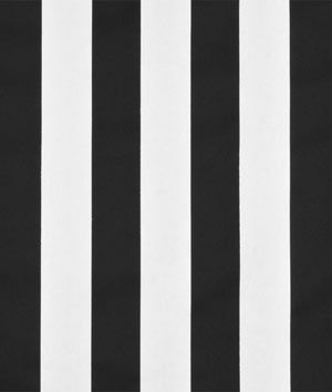 Online Fabric Store Wide Black & White Striped Fabric used for DIY Roman Shades {Tutorial by Sawdust and Embryos}