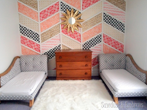 Twin Girl's Room {Sawdust and Embryos}