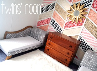Twins' Room {Sawdust and Embryos}