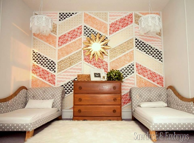 Twins' big-girl room reveal... and chandelier tutorial {Sawdust and Embryos}