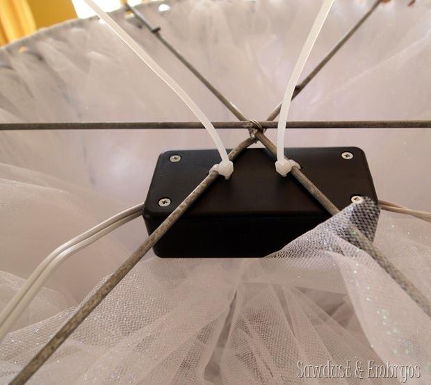 Zip-tied Enclosure {Sawdust & Embryos}