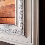 Build a Custom Frame out of Trim Pieces!