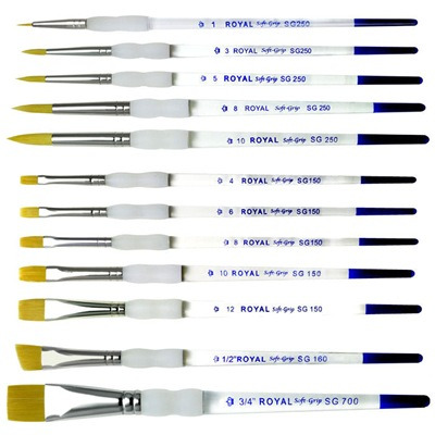 DIY Must-Haves... Royal Soft-grip Paint Brushes {Sawdust and Embryos}
