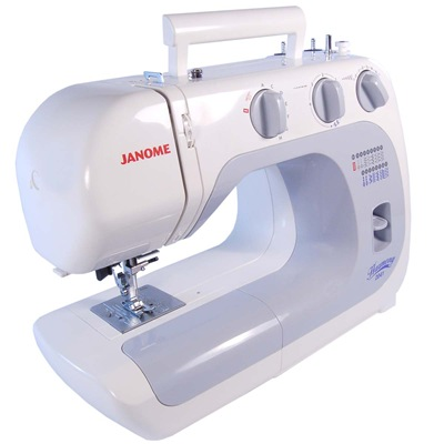 DIY Must-haves ~Janome Sewing Machine {Sawdust and Embryos}