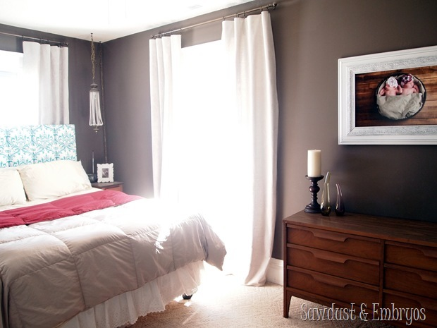 Master Bedroom Reveal {Sawdust and Embryos}
