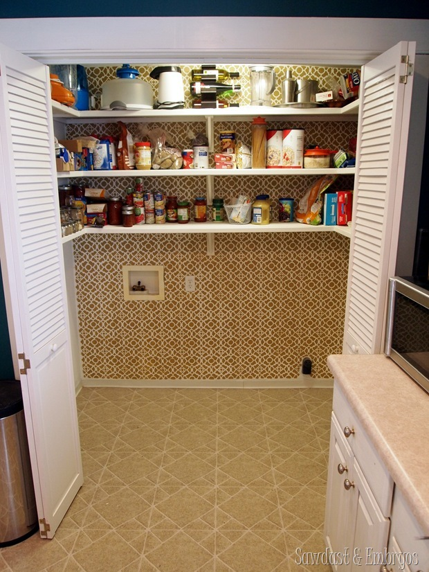 Pantry without the washer and dryer!