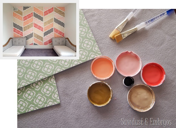Color inspiration for toddler girl's room {Sawdust and Embryos}