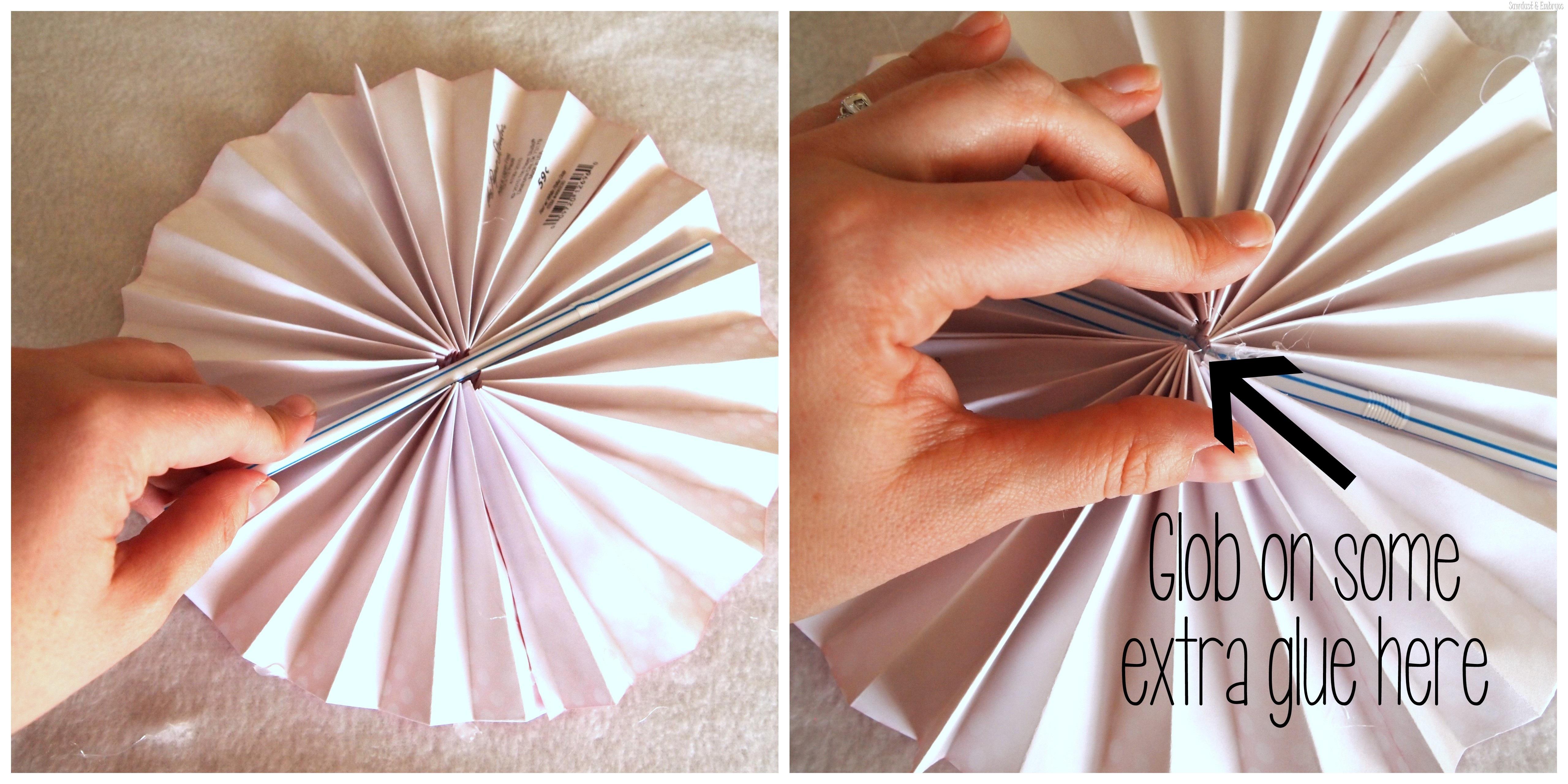Diy Paper Pinwheel Wall Collage Tutorial Reality Daydream