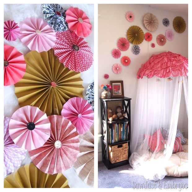 DIY Pinwheel Collage {Sawdust and Embryos}