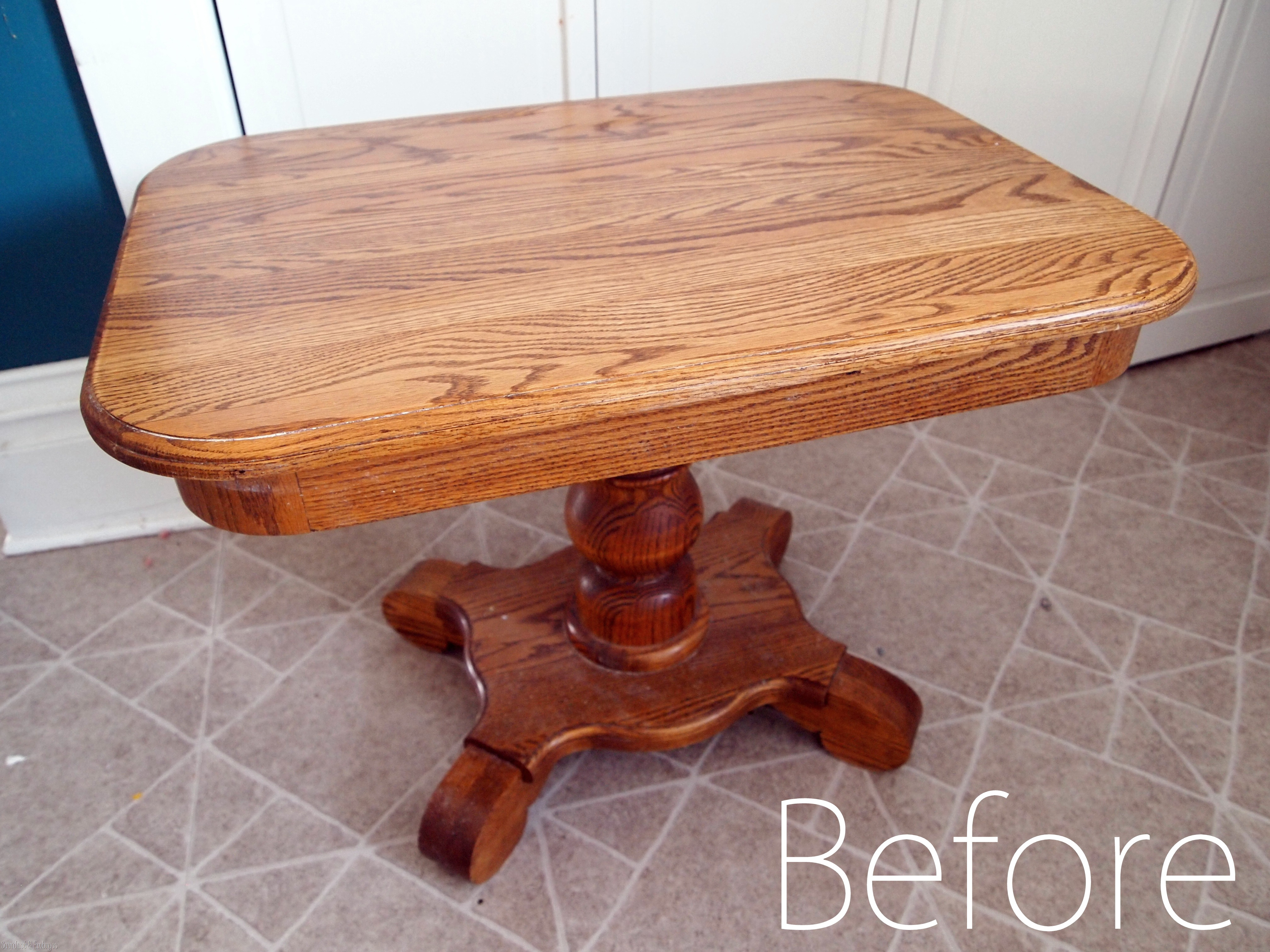 sawdust furniture. End Table BEFORE Pic {Sawdust And Embryos} Sawdust Furniture