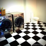 Operation Laundry Room {Flooring / Toilet}