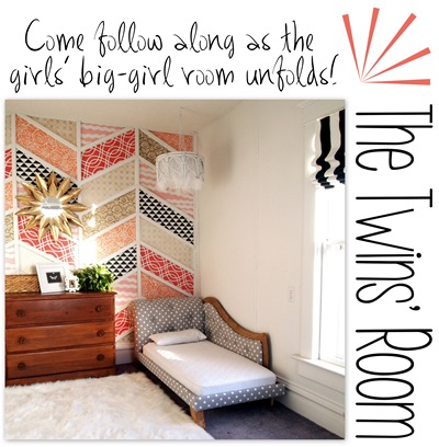 Twin's Big-girl Room Transformation {Sawdust and Embryos}