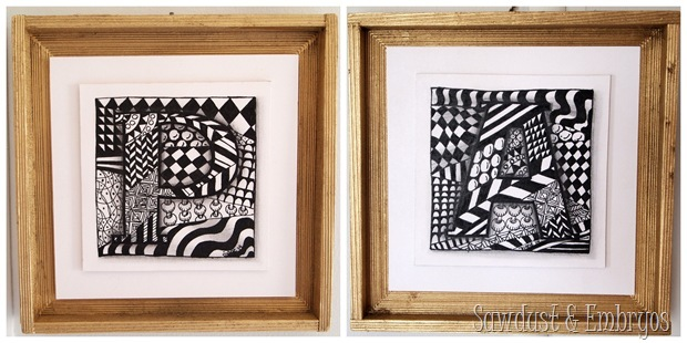 Zentangle Artwork {Sawdust and Embryos}