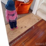 Patching & matching hardwood floors