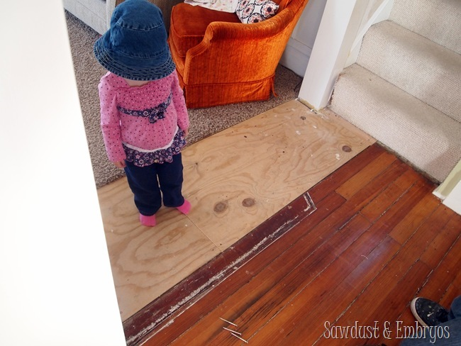 Patching Matching Hardwood Floors