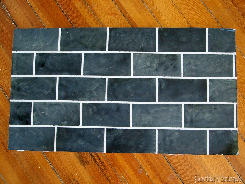 Painted Subway Tile Backsplash Tutorial Reality Daydream