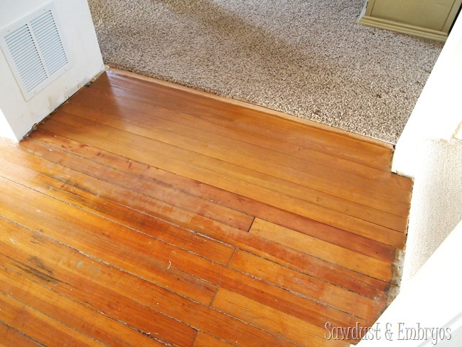 Stain-matched by Sherwin Williams {Sawdust and Embryos}