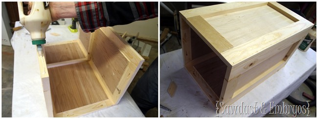 DIY Planter Box {Sawdust and Embryos}