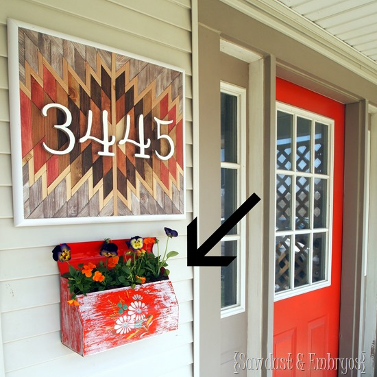 How to make a mailbox planter {Sawdust and Embryos}