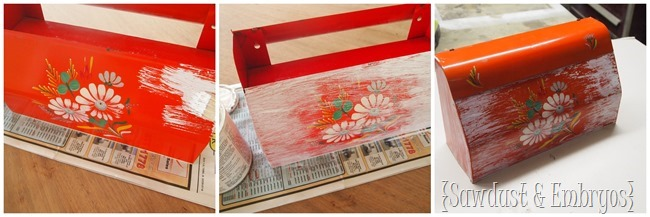 Making a mailbox look old... and turn it into a planter! {Sawdust and Embryos}