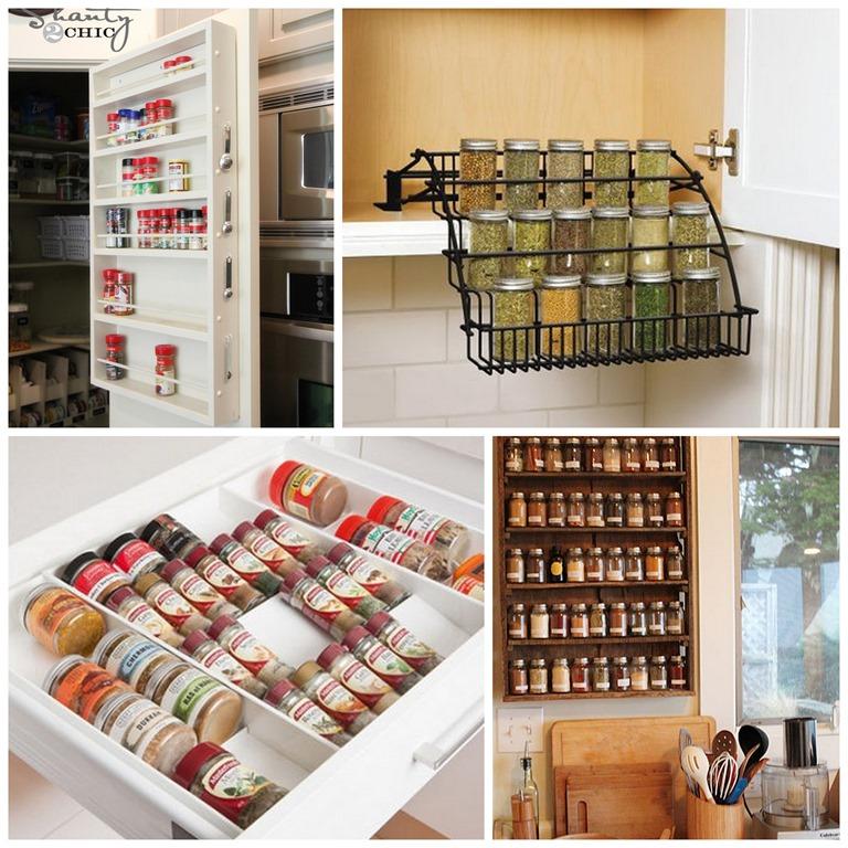 Kitchen Storage Ideas Youtube: Spice Jar Organization