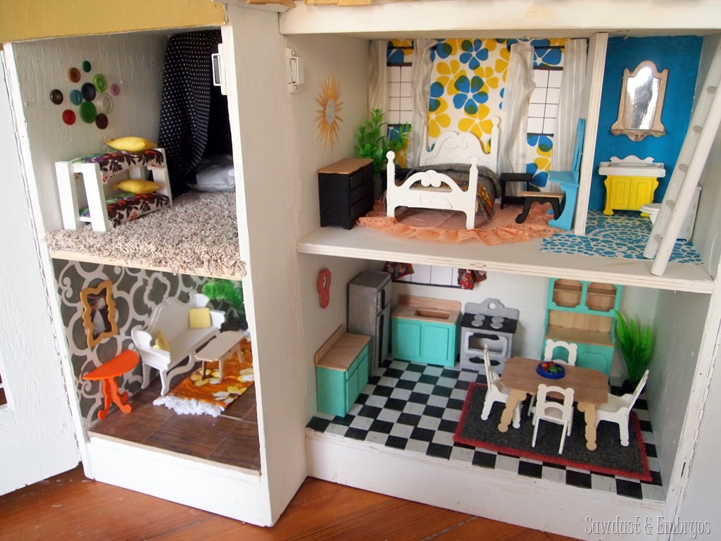 DIY Dollhouse Inspiration! {Sawdust And Embryos}