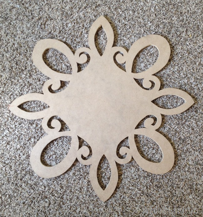 How to make your own swirly starburst-esque mirror! {Sawdust and Embryos}