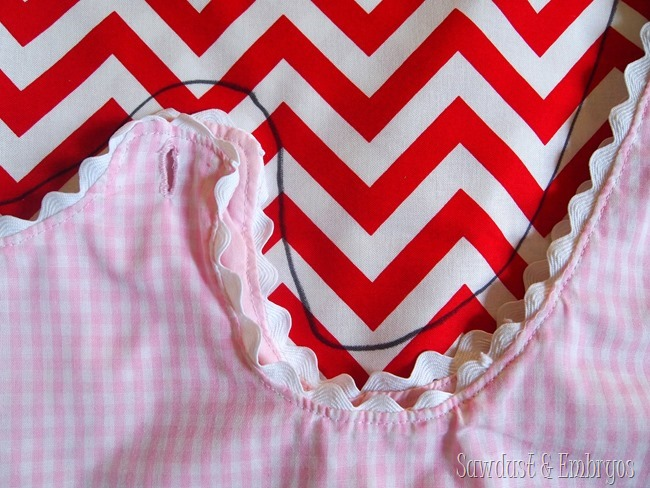 Toddler wrap-around dress {Sawdust and Embryos}