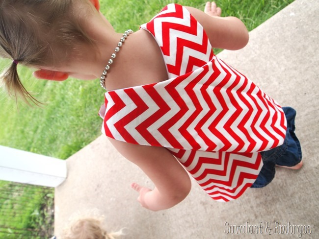 Wrap-Around Toddler Blouse Tutorial {Sawdust and Embryos}