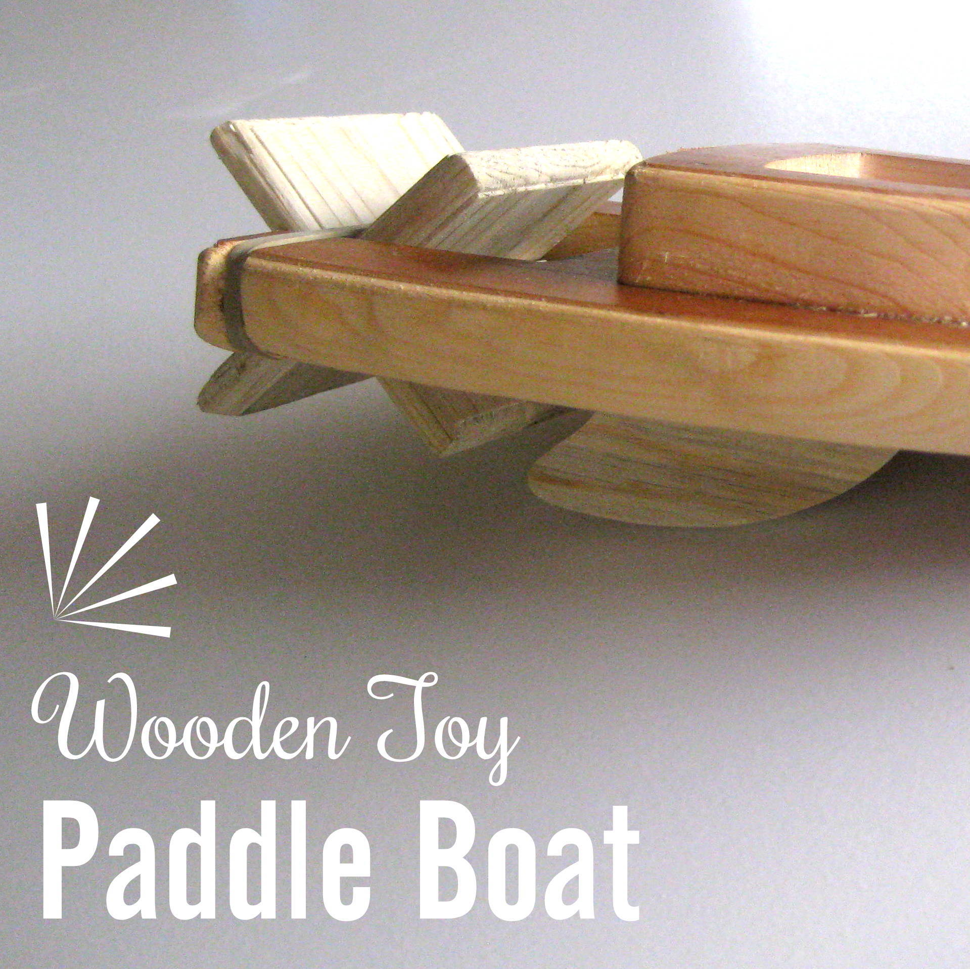 Wooden Paddle Boat Sawdust And Embryos