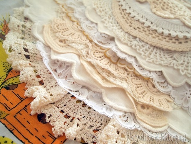 Doily Stash {Sawdust and Embryos}