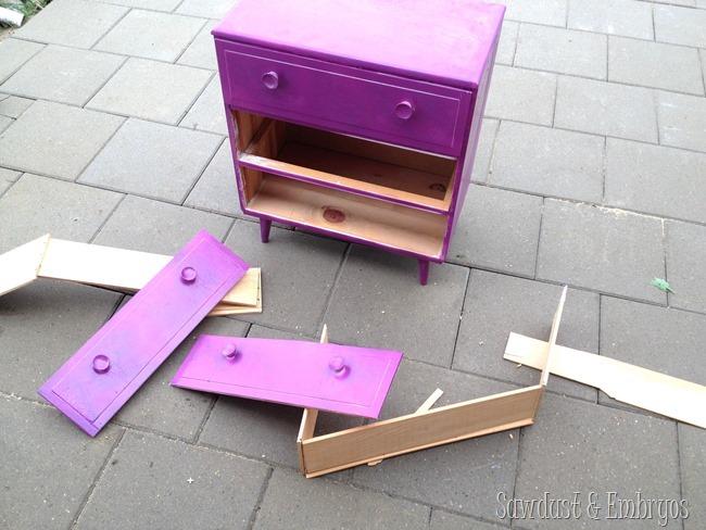 Litter Box Dresser