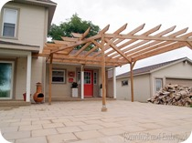 ROunded Pergola {Sawdust and Embryos}