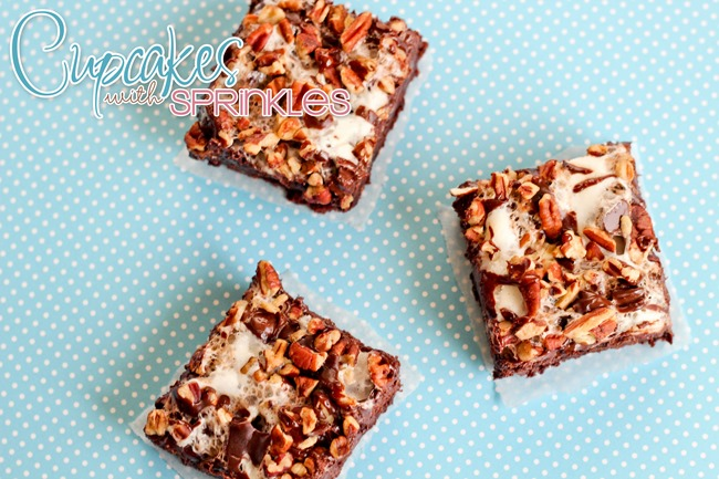 Rocky Road Brownies... (by Cupcakes with Sprinkles)