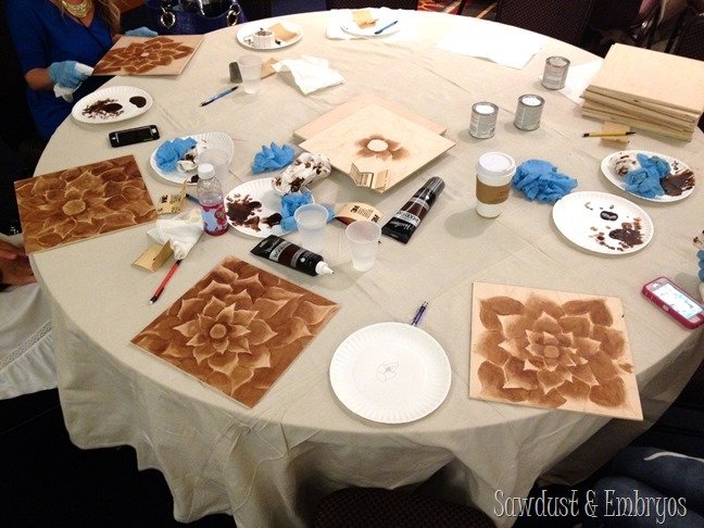 Shading with Stain class {Sawdust and Embryos}
