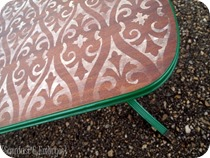 Stencilled & Distressed Coffee Table {Sawdust and Embryos}_thumb[8]