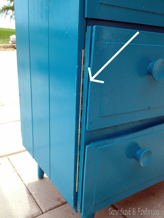 Little dresser turned litter dresser sawdust and embryos - Litter boxes for small spaces paint ...