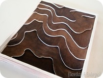 Wooden Topography Art {Sawdust & Embryos}_thumb