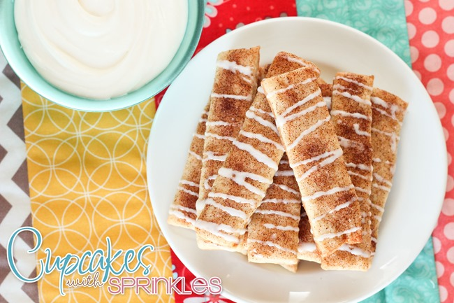 Cinnamon Dippers  {by Cupcakes with Sprinkles}