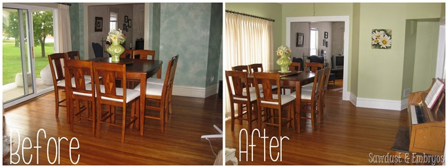 Dining Room {Sawdust and Embryos}