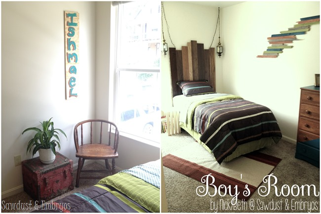 Little Boy's Room designed by Nick and Beth @ Sawdust and Embryos