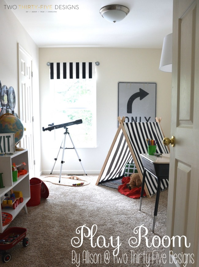 Play Room designed by Allison @ Two Thirty Five Designs