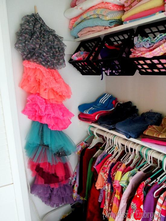 Nursery closet update organization ideas reality daydream for Childrens closet