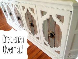 Credenza Transformation {Sawdust and Embryos}
