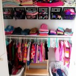 Nursery Closet Update {Organization Ideas}