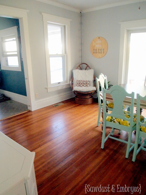 Nick and Beth's Dining Room {Sawdust and Embryos}
