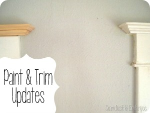Paint and trim updates {Sawdust and Embryos}